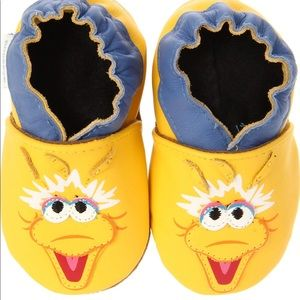 Robeez Sesame Street Big Bird slippers toddler